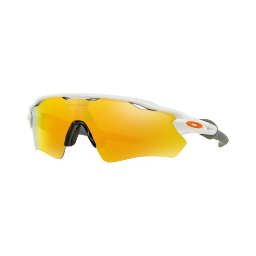 OAKLEY RADAR EV PATH PLSH WHT w/FIRE IRD