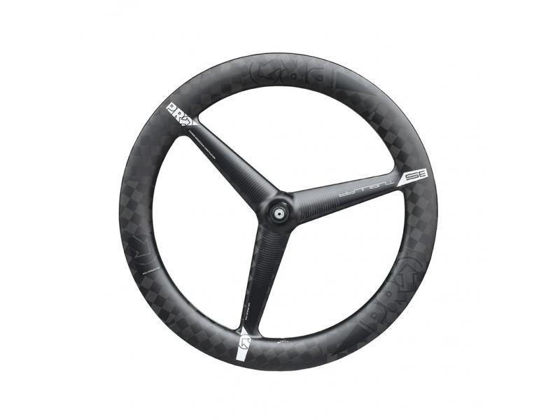 PRO 3-Spoke Wheel Textreme Tubular - Front