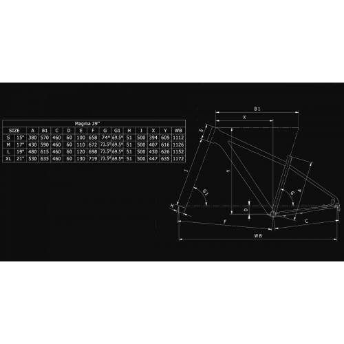 BIANCHI NITRON 9.4 DEORE XT 1X12SP